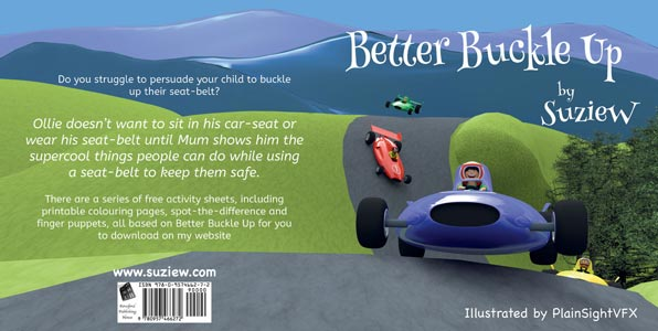book cover for paperback book Better Buckle Up