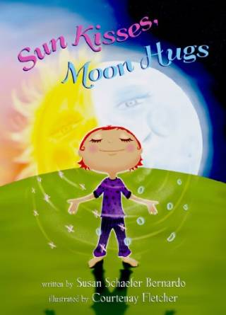 sun kisses moon hugs