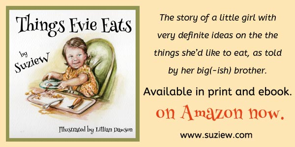 Things Evie Eats is available on Amazon
