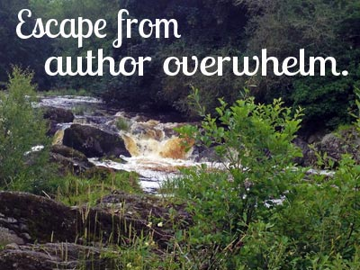 escape from author overwhelm