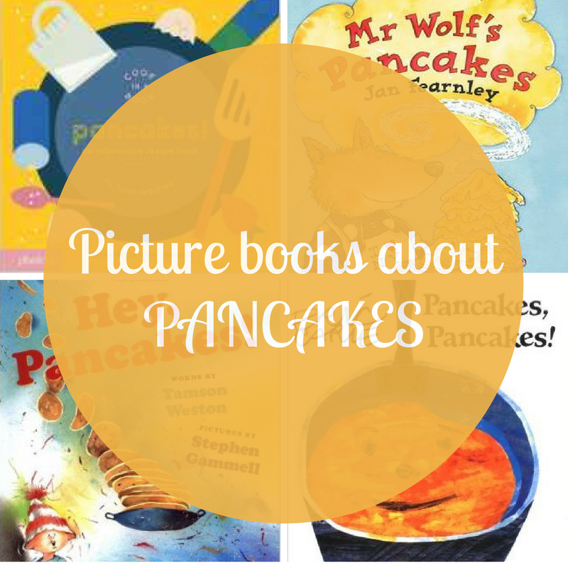 picture books about pancakes