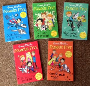 famous five colour short stories
