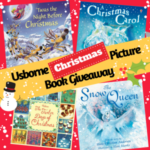 Usborne Christmas Picture Book Giveaway