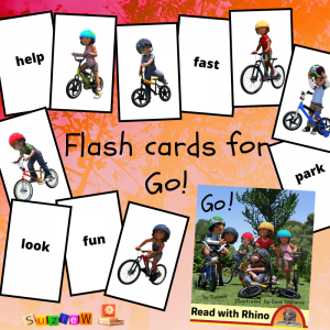 flashcards for go