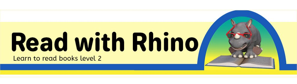 logo for Read with Rhino level 2