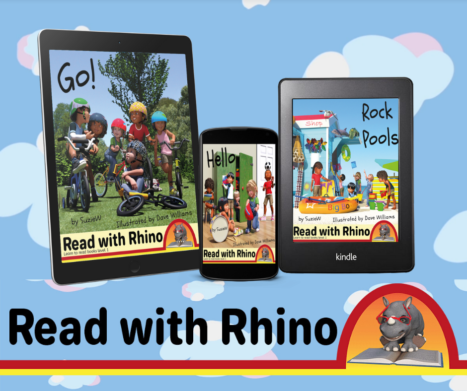 read with rhino level one books