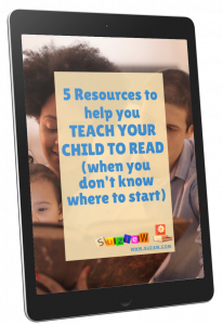 Cover of Teach your Child to read on tablet