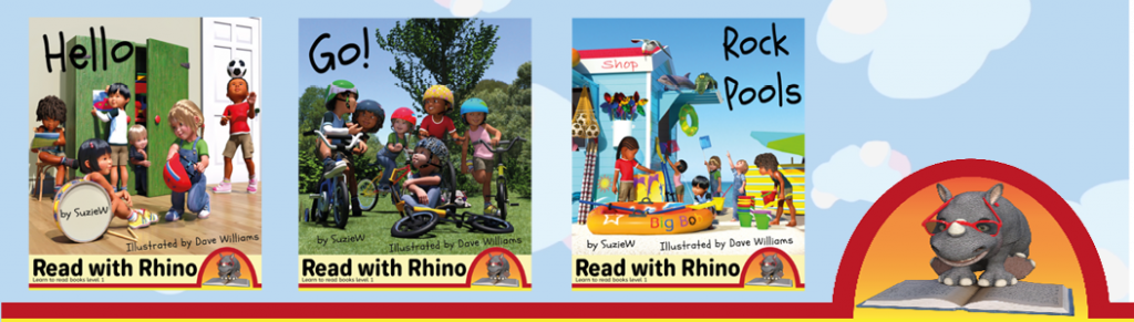 Read with Rhino banner