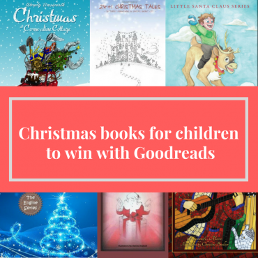 Christmas books for children to win for Free with Goodreads