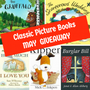 Win 5 Classic Picture Books in the May #Giveaway