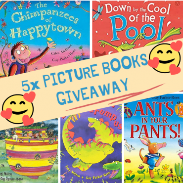 5x Funny Picture Books #giveaway
