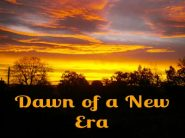 A new Era – reassessing my life, the universe and everything.
