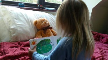 Pre-reading skills: when you know you're raising a reader