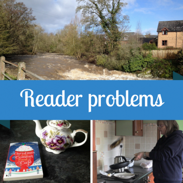 Reader problems: a book win, pancake tossing and Storm Doris