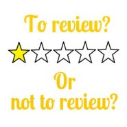 To review? Or not to review? (when you don't love the book you're reading)