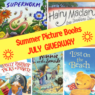 Win 5 Summer Picture Books in the July #Giveaway